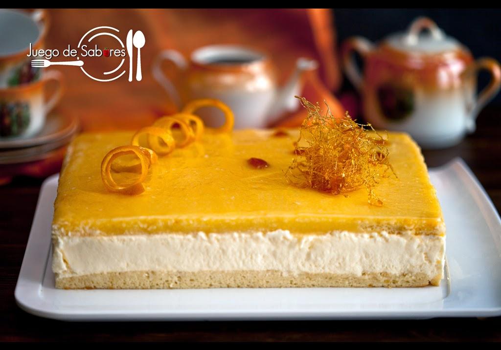 14 recetas dulces con c tricos mandarina naranja y lim n - Postre con mandarinas ...