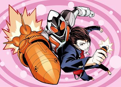 Kamen Rider Fourze Fanart