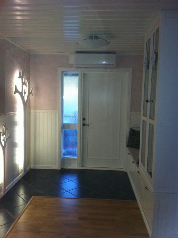 Villa Nystuga Vårt lågenergihus på landet Inspiration till hallen