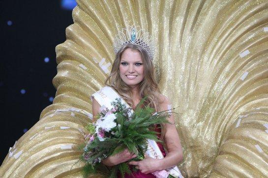 Kristina Krajčírová Crowned Miss Slovensko 2012 or Miss World Slovakia