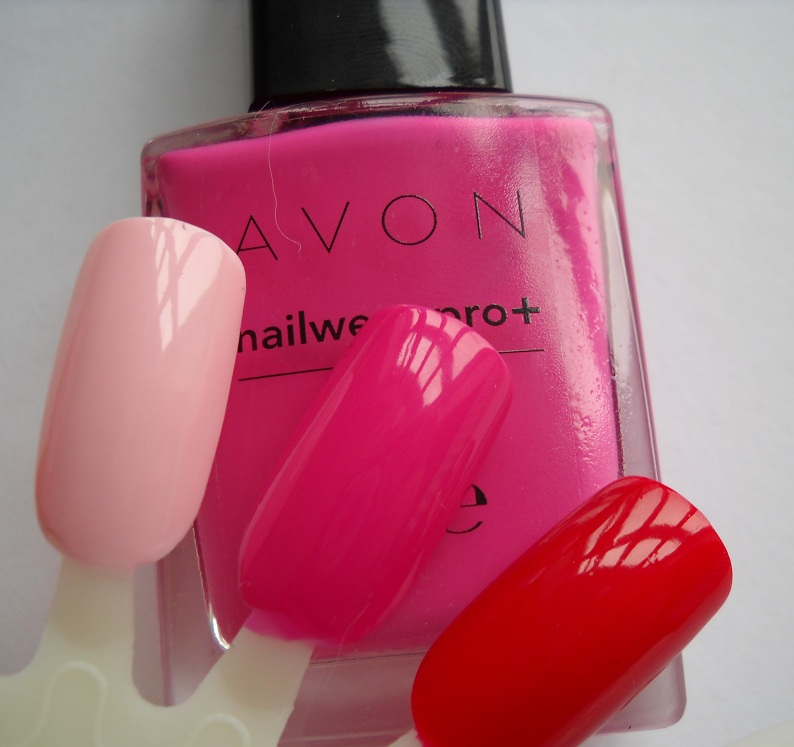 Ami's Makeup Drawer: Swatches: Avon Nailwear Pro