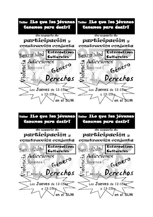 TALLERES EN ESCUELAS