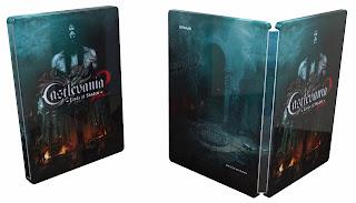 castlevania lords of shadow 2 steelbook alternate for pre orders Castlevania: Lords of Shadow 2 (360/PC/PS3)   Draculas Tomb Edition Image & Details + Pre Order Bonus