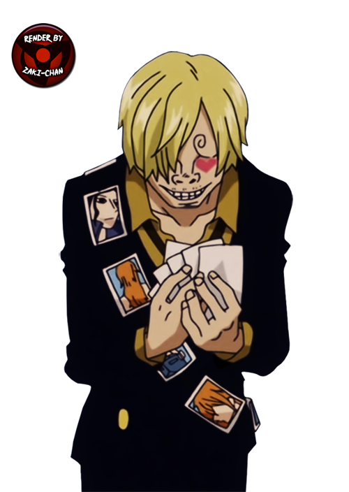 render Sanji + One Piece