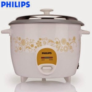Shopclues : Philips Hd3043/01 1.8 L Electric Cooker + Rs.44 cashback Rs.2190