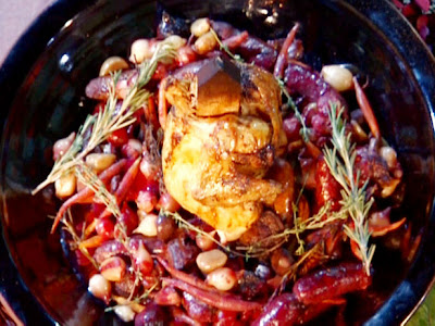 Staked Vampire Chicken with Blood Braise@northmanspartyvamps.com