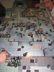 Massive Marvel Heroclix Game.