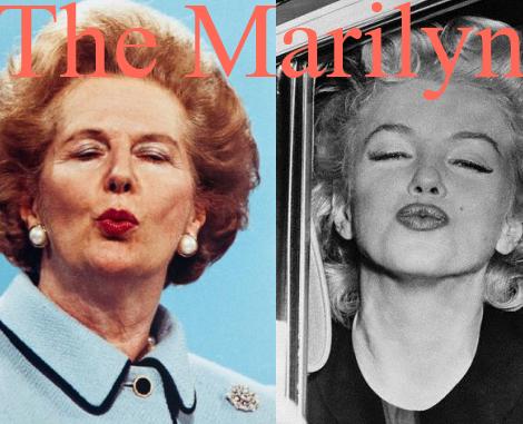 Margaret Thatcher RIP Marilyn Monroe