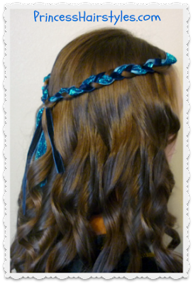 Halloween Hairstyle, Evie from Disney's Descendants