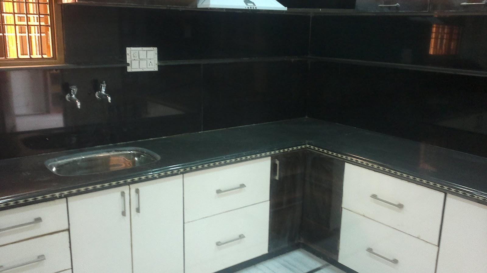 Hari Om Marbles And Granites Kitchen Platforms With Molding Patti Design