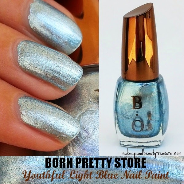 Light-Blue-Nail-Polish