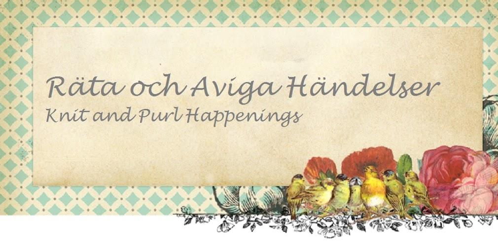 Räta & Aviga Händelser,Knit&Purl Happenings
