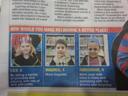 How Would You Make Melbourne A Better Place - Interesting Answers!