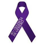NO más violencia de género.