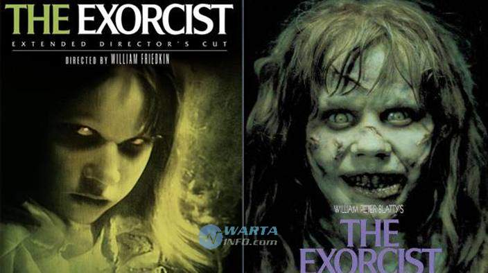 The exorcist movie poster film horor terbaik paling terseram