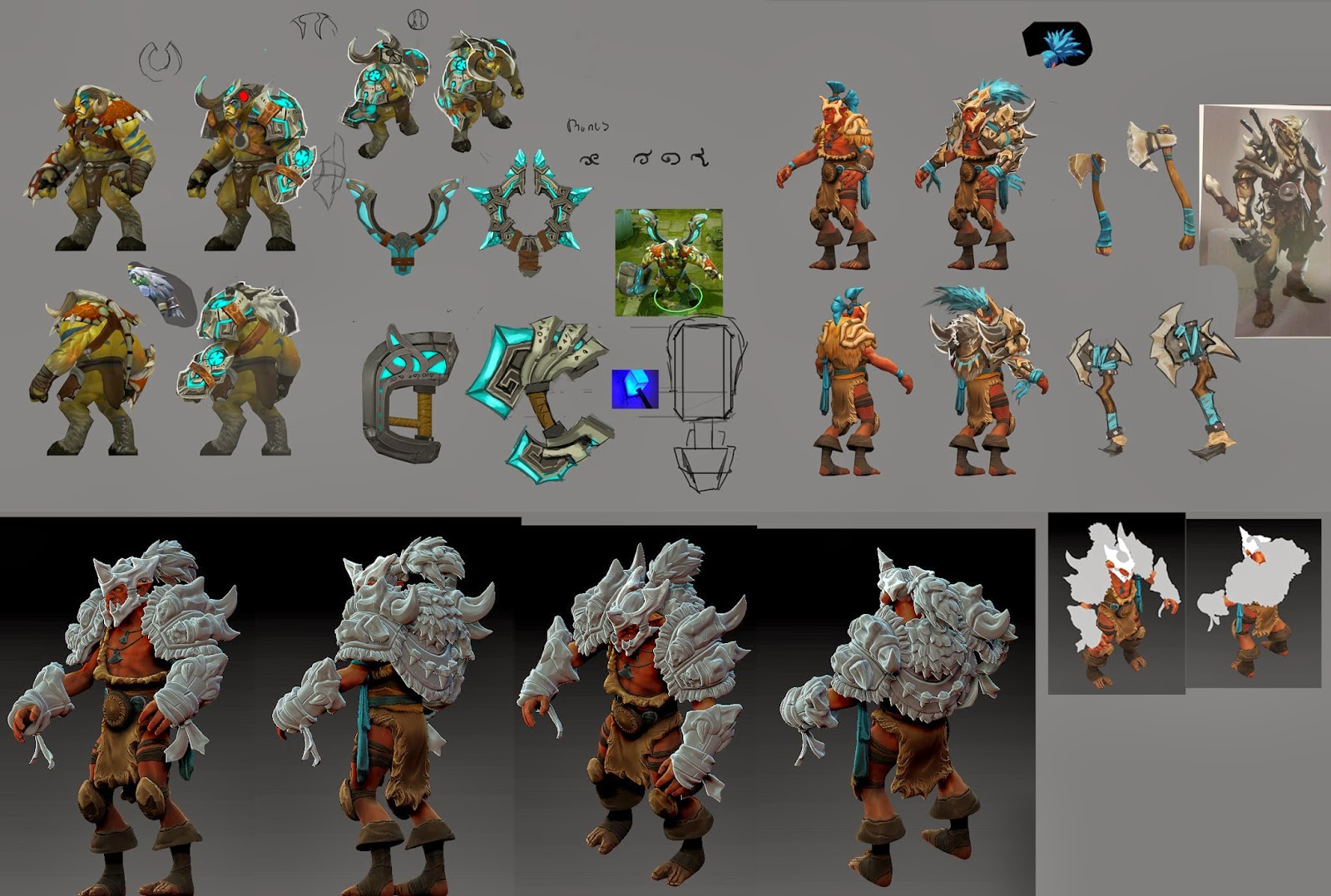 trying to find an update on troll warlord set dota2