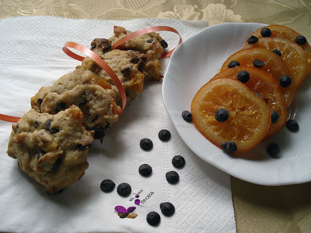 cookies, galletas, chocolate, chocolate y naranja confitada, naranja confitada, naranja,