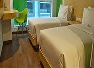 Kamar Happiness Maxone Hotel Belitung