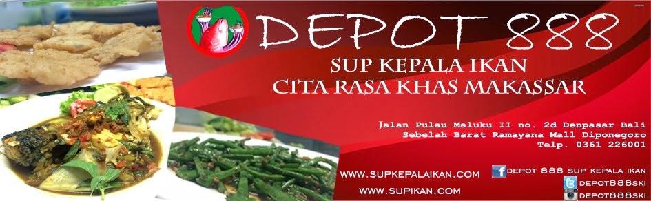 DEPOT SUP KEPALA IKAN 888 BALI    - HUBUNGI 0361 226001