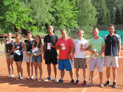 Tisha Anders und Christopher Spruck gewinnen zweiten Eagle-Cup des TC RW Eiterfeld