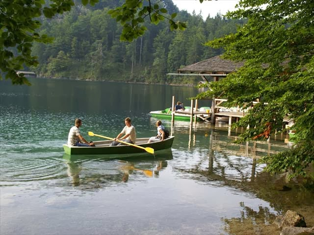 swiming is possible allowed alpsee