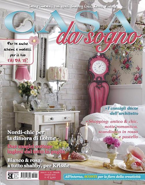 Maison decor my home 39 s feature in italy 39 s casa da sogno for Rivista di case da sogno