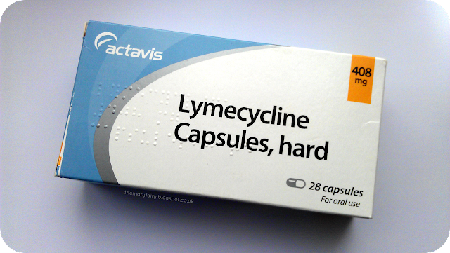 Lymecycline capsules for acne review