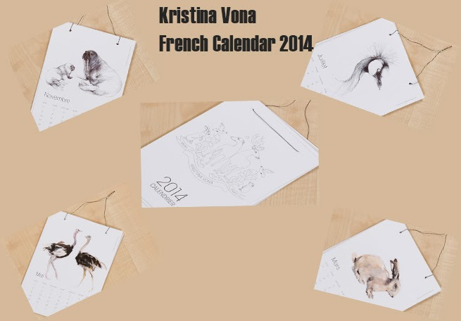 Calendrier Krisztina Vona