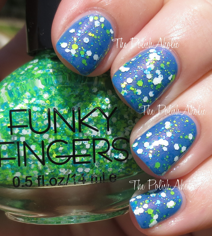 The PolishAholic: Funky Fingers Nail Polish Swatches & Review