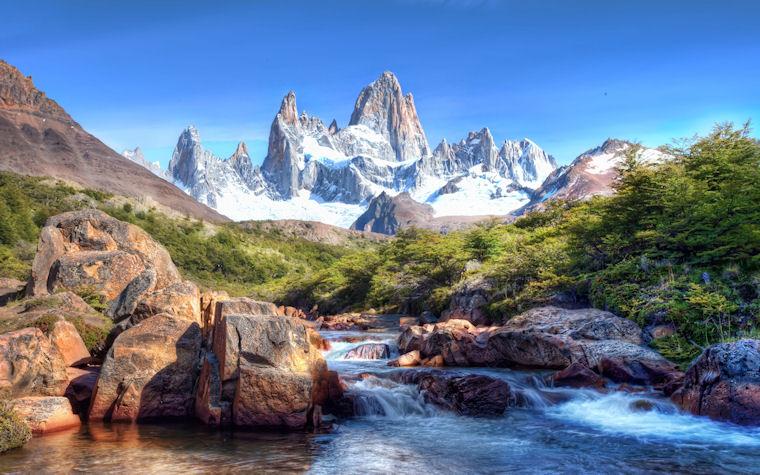 Paisajes del paraíso | Montaña y Río