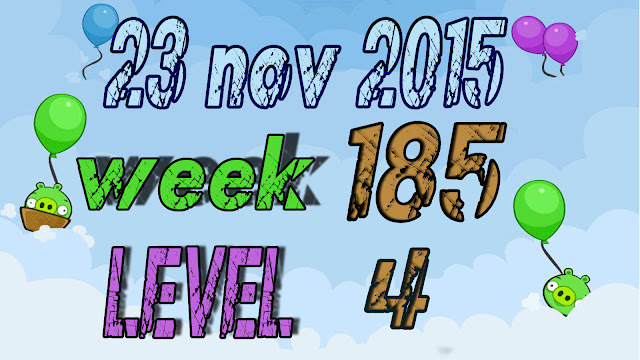 Angry Birds Friends Tournament level 4 Week 185