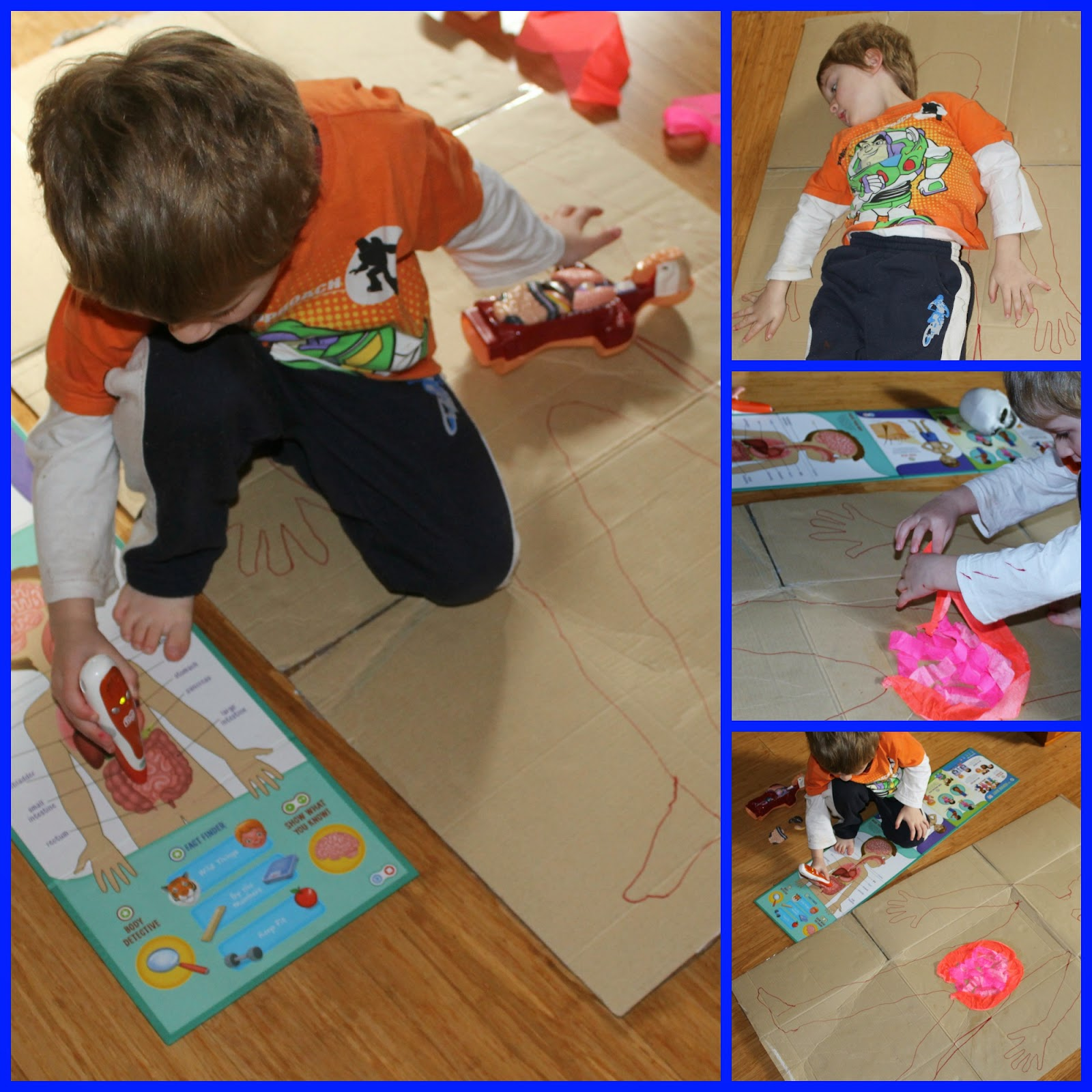 Adventures At Home With Mum Building A Body Preschool Anatomy