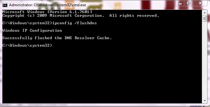 Cara Membersihkan Cookie DNS melalui Command Prompt