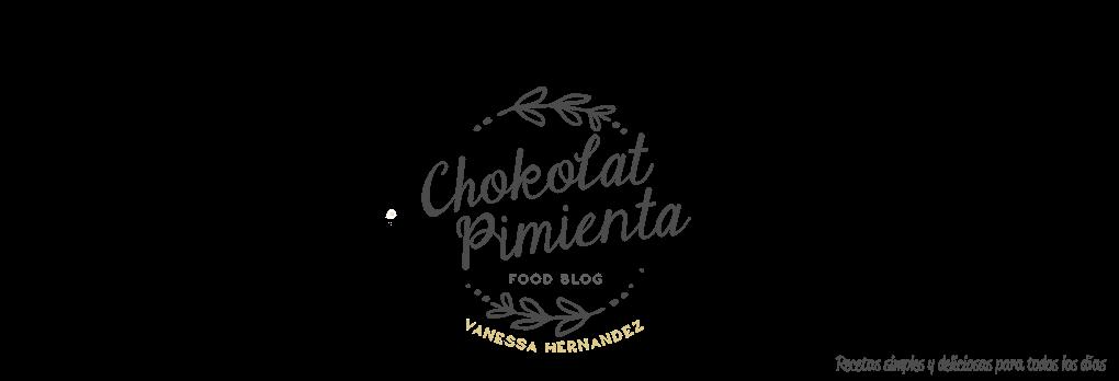 Chokolat   Pimienta Recetas de Cocina por Vanessa Hernández