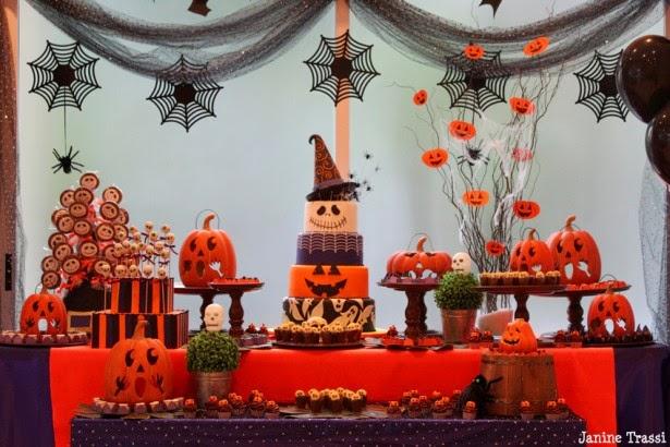 Quarto da Bagunça Decoraç u00e3o de Halloween -> Decoração Simples De Halloween