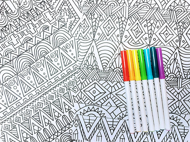 Alisaburke coloring page sale for Tribal pattern coloring pages