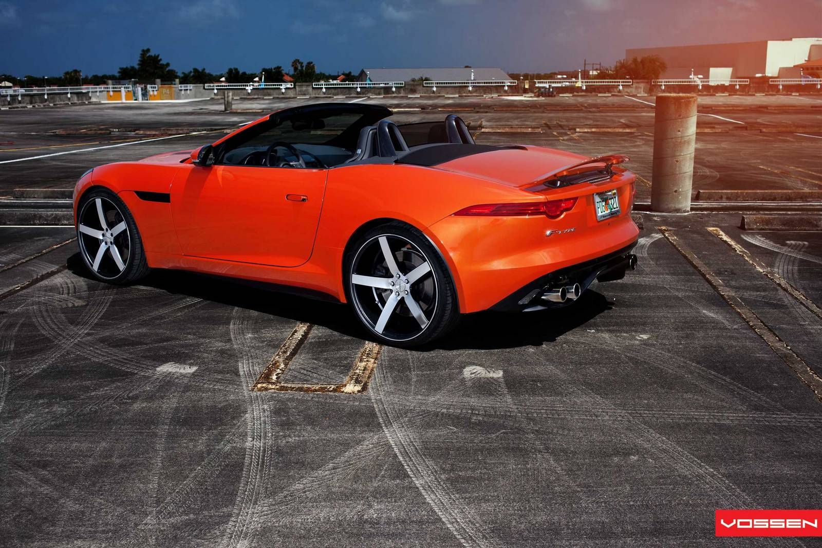 Davide458italia  Jaguar F Type V8 S on Vossen Wheels