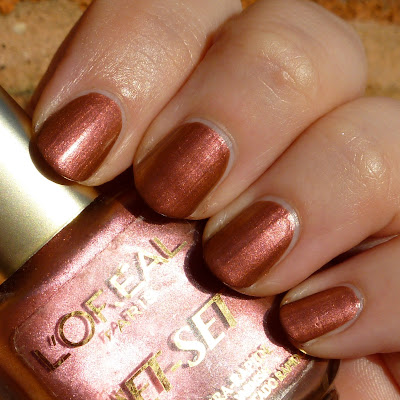 L'Oreal Jet-Set 026 Nail Polish Swatch