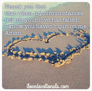 Prayer for anyone who feels like God's love has failed
