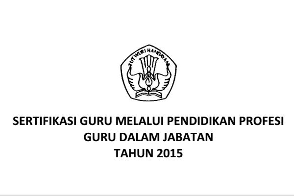 Pedoman PPGJ tahun 2015