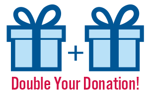 DONATIONS MATCHED IN APRIL!