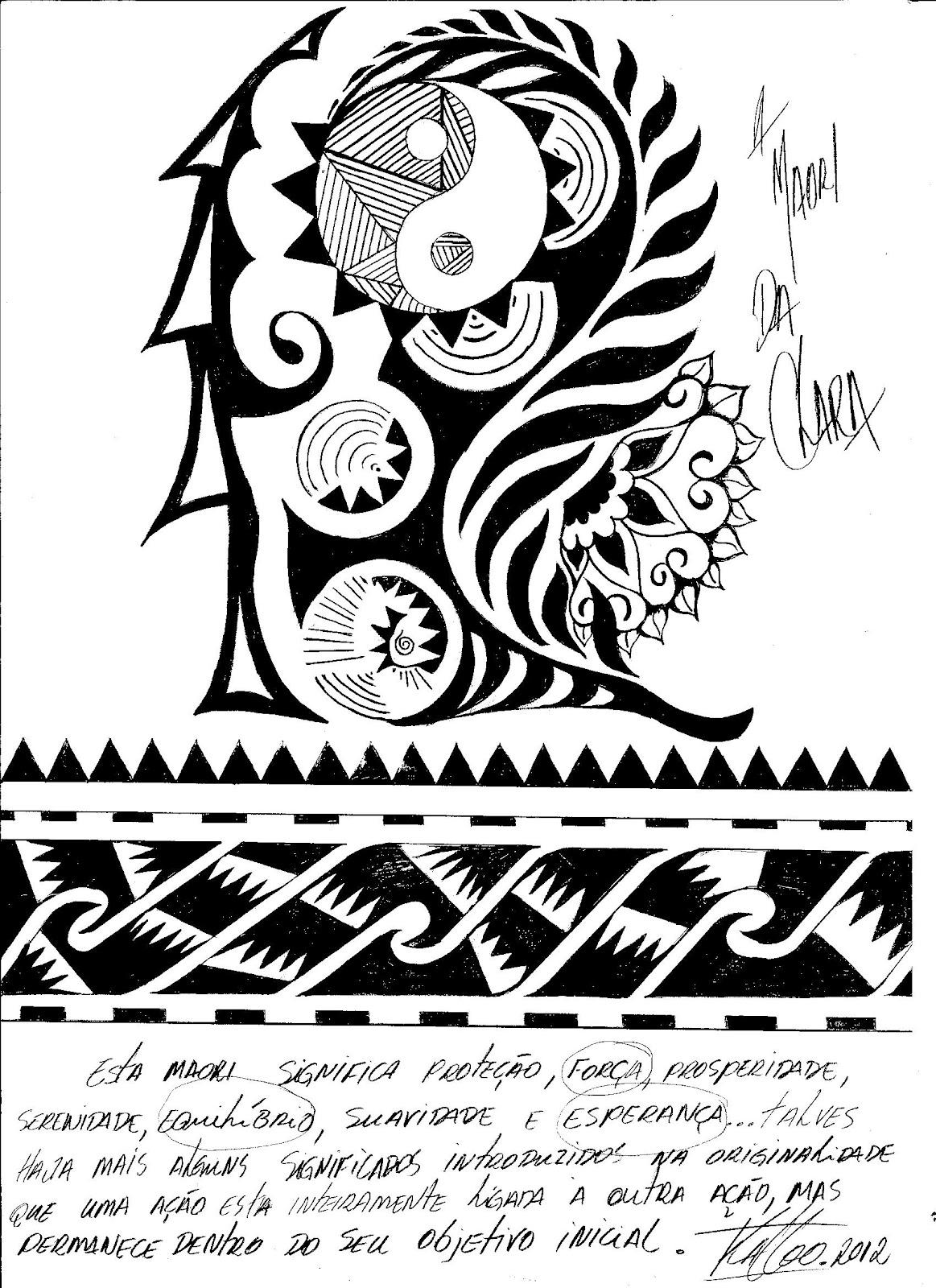 Favoritos Kattoo Ink: Maori de Karina OM52