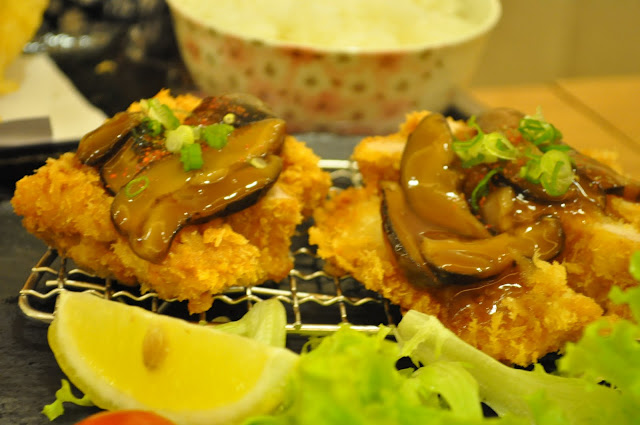 Tontei+Pork+Restaurant+review+Nex+mall+Singapore+katsu+mushroom