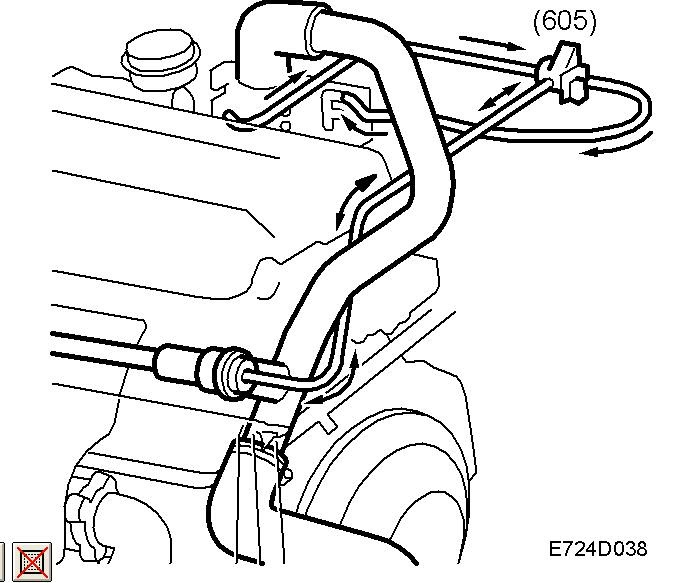 2001 SAAB 93 vacuum    diagram      Auto Services