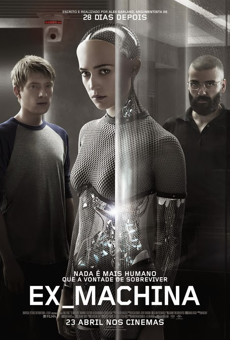 Ex Machina BDRip AVI Dual Áudio + RMVB Dublado