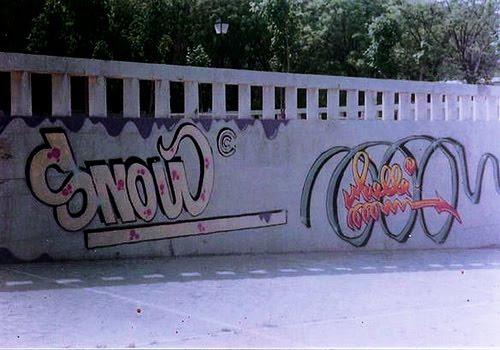 muelle  graffiti