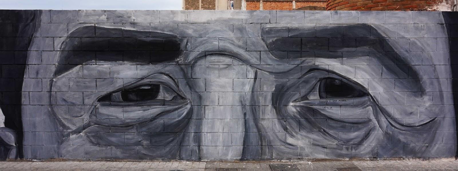 The look graffiti
