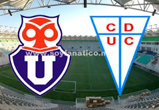 Clasico U de Chile vs Catolica 2013