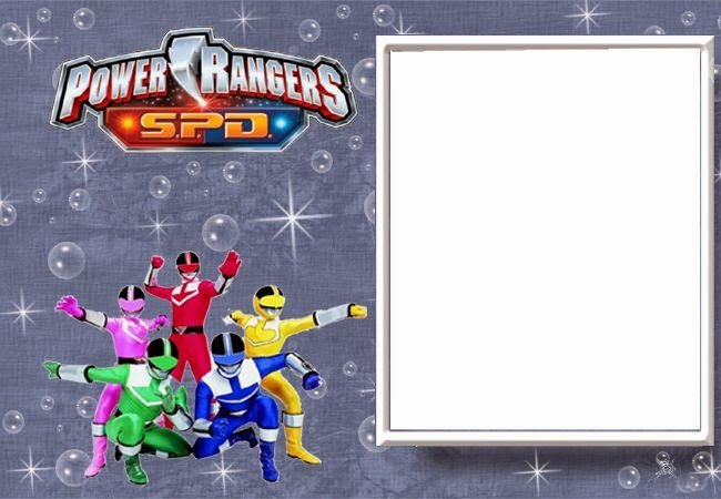 Power Rangers Free Printable Invitations Oh My Fiesta For Geeks