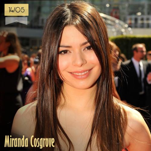 14 de mayo | Miranda Cosgrove - @MirandaCosgrove | Info + vídeos